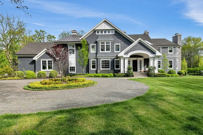 Rumson's home at 2 Buttonwood Lane is a spectacular manor.
