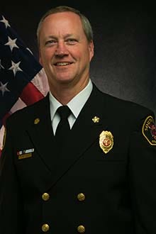 South Kitsap Fire & Rescue Chief Steve Wright