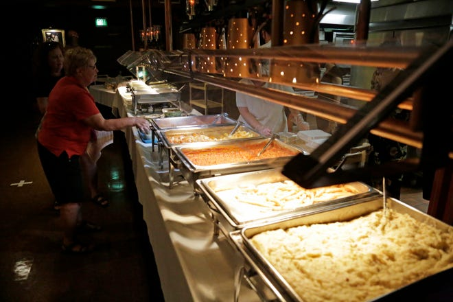 The Farm restaurant in Delhi Township switched its self-serve buffet to full service in June 2020 in order to reopen under Ohio's coronavirus health orders.
