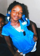 Aiyana Jones, 7. The child died in an accidental shooting by Detroit Police who were executing a search warrant on the property for a murder suspect.