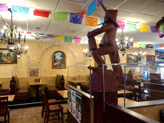 Taqueria El Nacimiento in Detroit added clear plastic partitions in the dining room and propped open both front and back doors so no one had to touch the door handles.