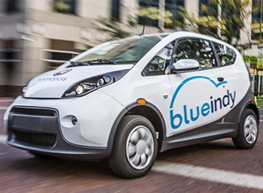 BlueIndy, an electric-car sharing service in Indianapolis that launched in 2014, quietly closedlast month.
