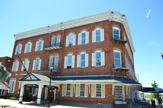 The Port Clinton tour will include information on the historic Island House and its famous visitors.