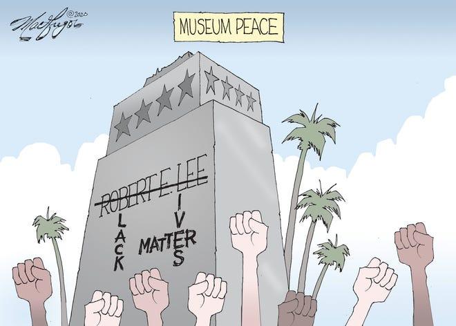 Doug MacGregor cartoon