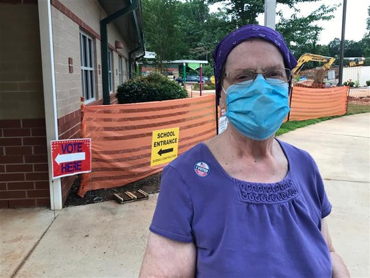Carolyn McLeod has left her house twice in the past three months.Once was to take her 83-year-old husband to the hospital a few days ago. The other was to vote in Greenville, June 9, 2020.