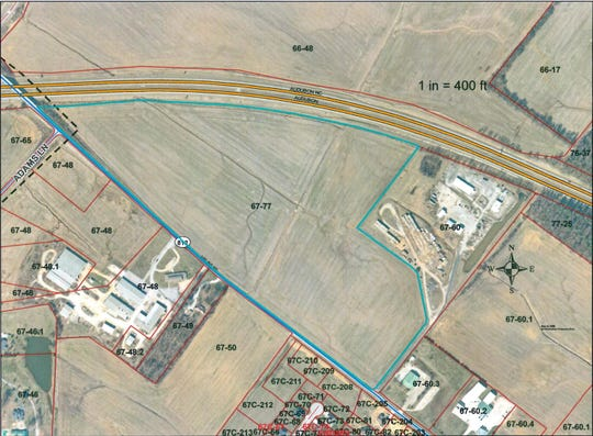 The Henderson City Commission approved the purchase of 58 acres bordering Airline Road and Audubon Parkway from Hillview Enterprise LLC for the construction of a new sports complex.