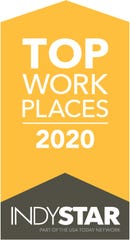 Central Indiana workplaces that received top ratings from employees are chosen for the Top Workplaces 2020 list.