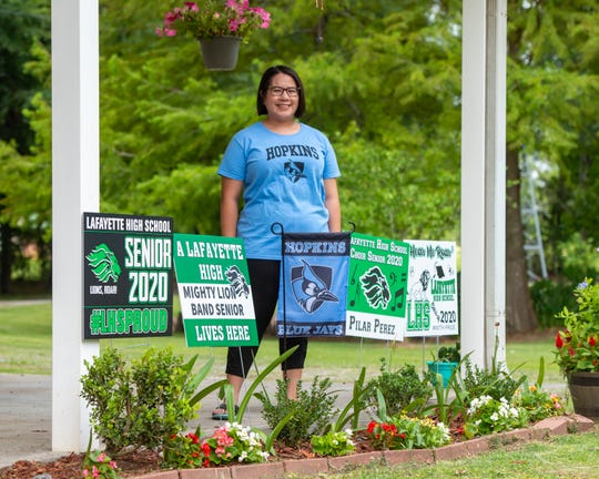 Pilar Perez, Lafayette High graduate who received the Bill Gates Millennium Scholarship Award. 