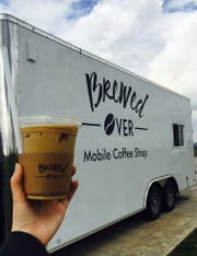 A big fan of drip coffee and good espresso, David wanted to share his love of the drinks with others so the Hines opened their mobile coffee shop Brewed Over in November of 2016.