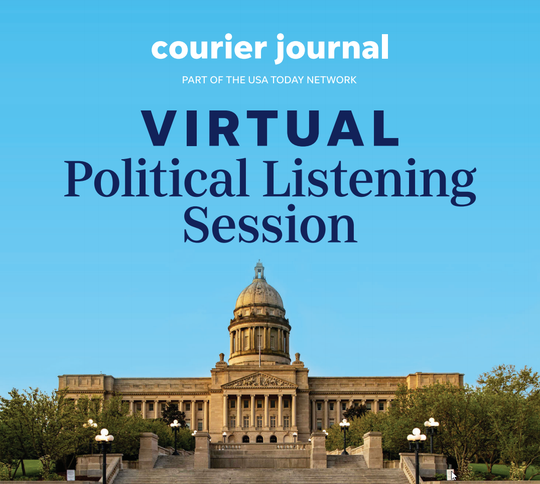The Courier Journal held its first virtual political listening session ahead of the June 23 primary.