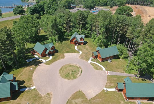 Pleasant Hill Lake Park has ten new deluxe log cabins that will open to guests on Friday, June 19, 2020.