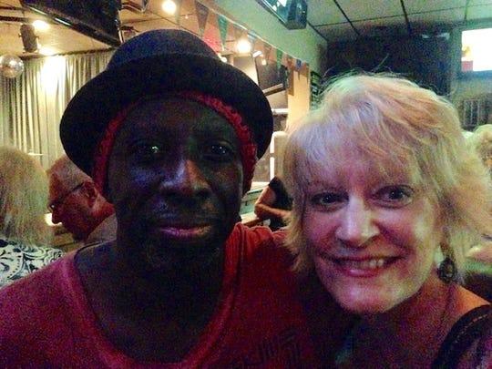 Willie Phoenix, left, and Julia Newland