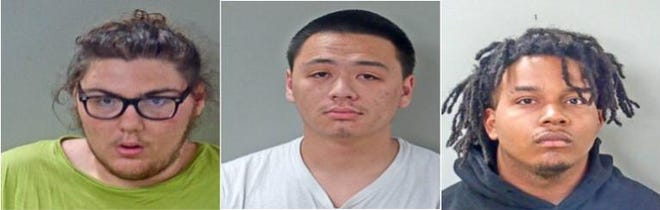 Seth William Johnson, Yo Phomphanh and Rasaan Wogoman have been charged with felony murder in the death of Thein Win.