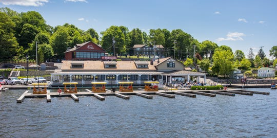 Dine by a lake at The Windlass