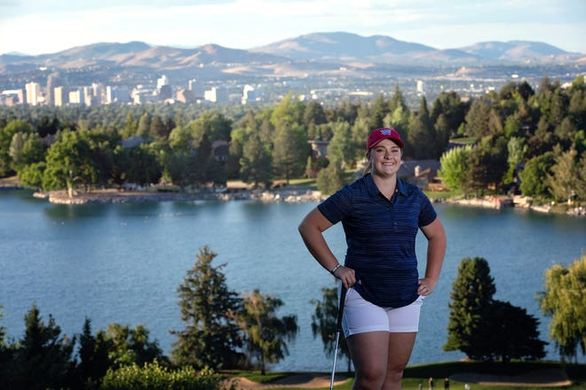 McQueen's Sarah Gray will play golf for Southwestern Oregon CC.