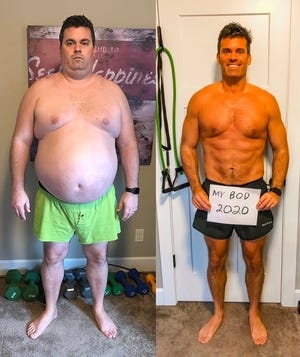 Wade Jackson is one of four male finalists in the annual Beachbody Challenge.