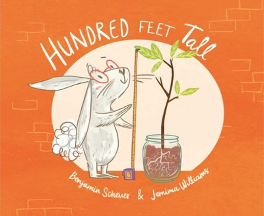 """Hundred Feet Tall"" by Benjamin Scheuer, illustrated by Jemima Williams"