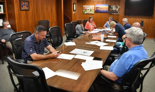 The Lake Wichita Revitalization Committee met Tuesday afternoon and discussed finished and upcoming projects at the lake.