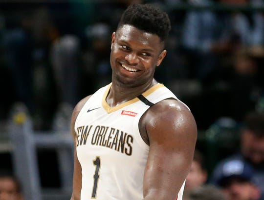 Zion Williamson says he could play the whole game against the Jazz on Thursday.