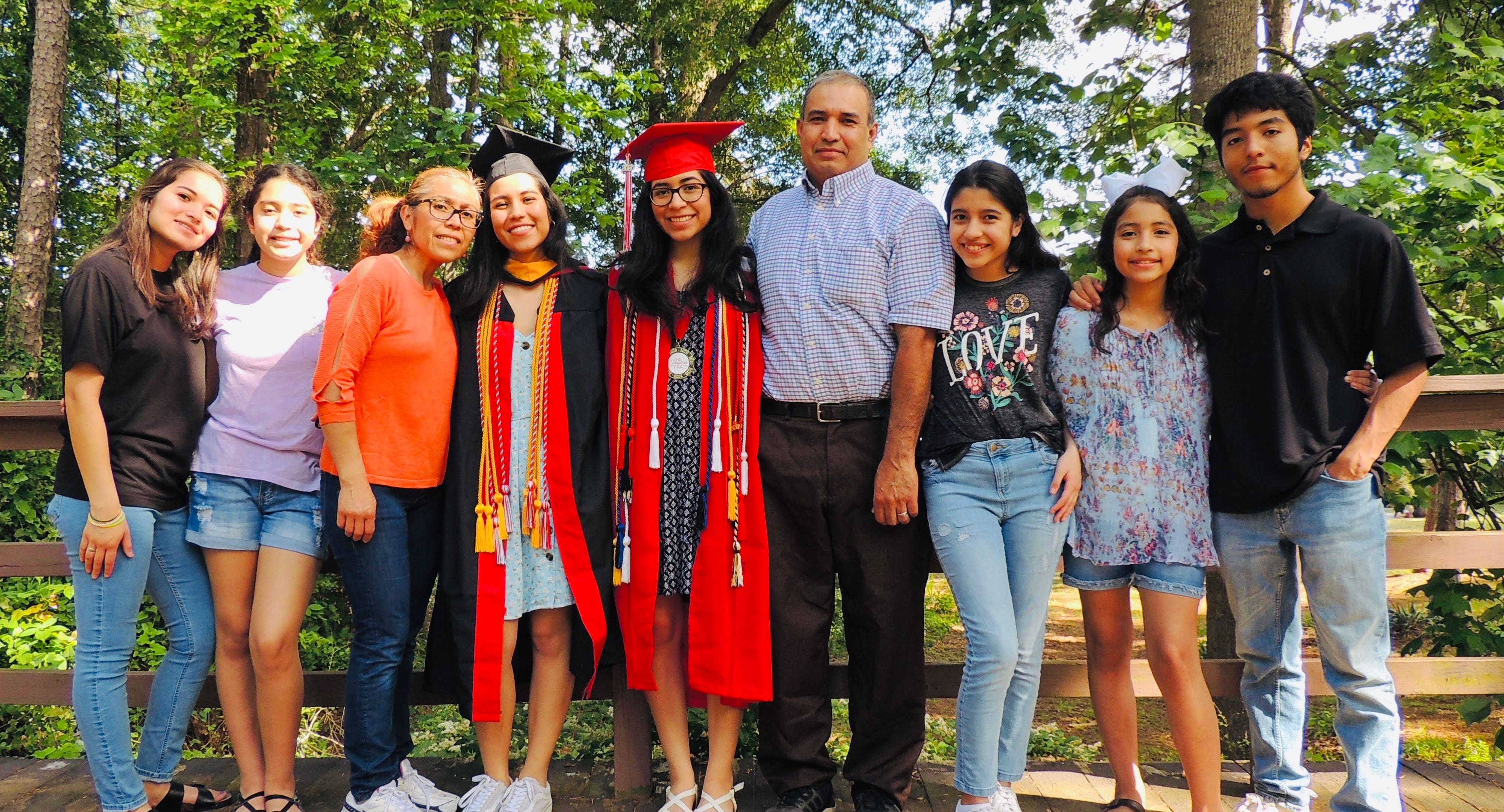 Indira Islas, a Dreamer whose parents fled violence in Mexico, graduated from Delaware State University.