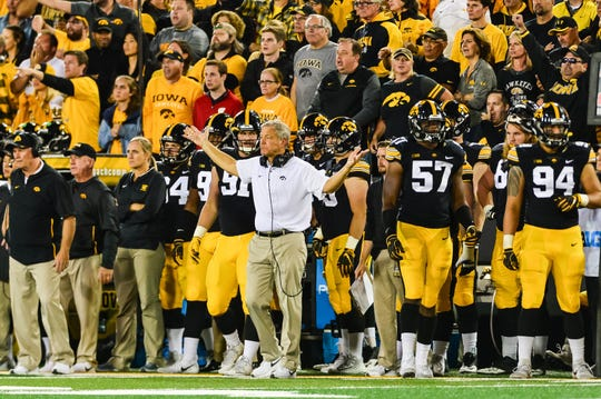 Kirk Ferentz has been the head coach at Iowa since 1999.