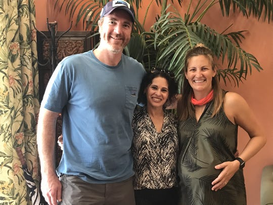 """Even if clients are looking for a """"forever home,"""" says real estate agent Angela Veselov, center,  """"you have to think about reselling."""""""