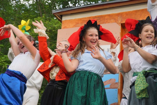Young actors perform during a Very Merry Theatre summer camp. The program has decided to open for summer 2020, with some modifications to prevent the spread of COVID-19.