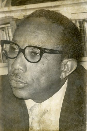 Rev. Harold T. Branch, pictured in November 1970, was one of the community leaders who helped calm a potential riot in October 1970 in Corpus Christi.