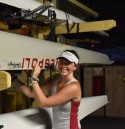Vineland senior Kaylee Carlson will row at the University of Massachusetts next year.