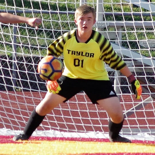 Taylor goalie Nick Cordrey passed away June 3 after suffering a brain aneurysm. He was 15.