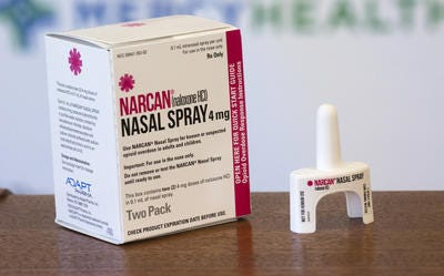 Health experts say multiple doses of Narcan nasal spray are needed to reverse the effects of an overdose involving the new synthetic opioid isotonitazene, commonly known as iso.