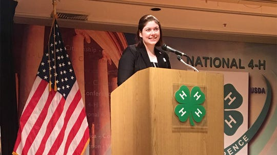 Kate McHale received the Somerset 4-H Train Masters Scholarship.
