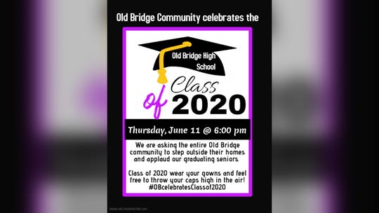 The school-community is invited to celebrated Old Bridge High School's graduating class.