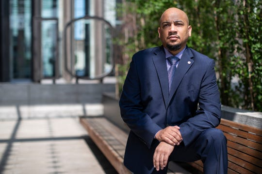 Kenneth Harris, president and CEO of National Business League, poses for a photo in Detroit, Wednesday, June 10, 2020.
