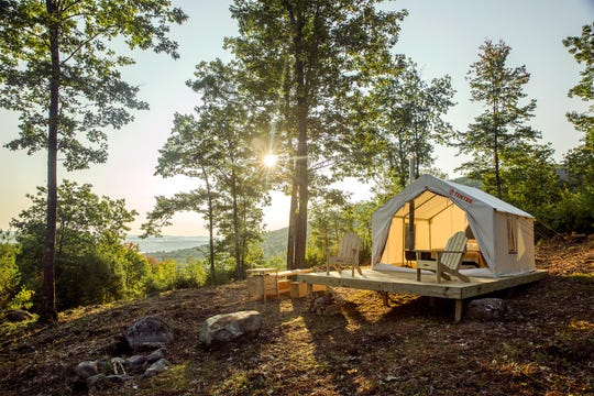 Tentrr and the Michigan Department of Natural Resources are partnering to bring safari-style tents to two Michigan state parks.