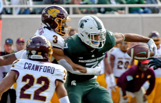 Michigan State will continue to periodically play Central Michigan for at least the next decade as it announced three future games with the Chippewas on Wednesday.