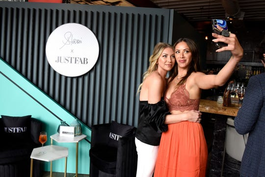 "Stassi Schroeder, left, and Kristen Doute of ""Vanderpump Rules."""