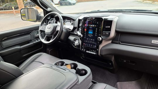 The posh interior of the 2020 Ram 2500 Power Wagon is the best in the business.