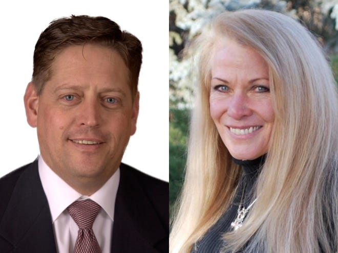 Mike Lynch, left, and Vicki Marble are running for the House District 49, which represents portions of Larimer County outside Fort Collins and Loveland.