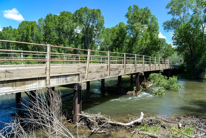 Cascade County is moving ahead with plans to replace the Armington Bridge in Belt.  Debris catches in its five pillars and causes flooding.