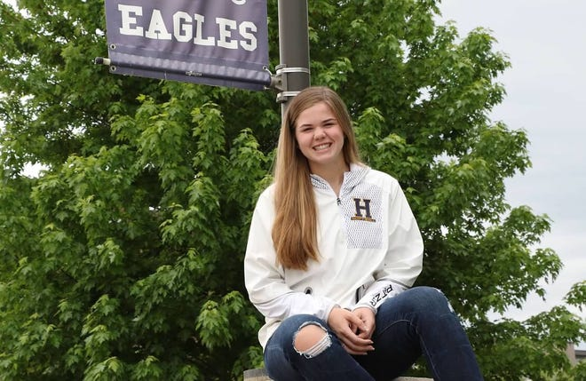 Riley Patzer was the only senior on a Hartland softball team that was a state championship contender.