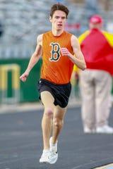Brighton's Zach Stewart was a state qualifier in the 1,600- and 3,200-meter runs in 2019.