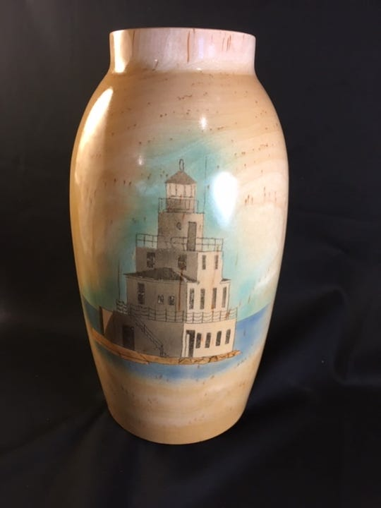 Manitowoc Light House, a collaboration between Dave Pozorski and Jim Dolan.