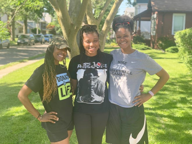 Marion residents Candace Floyd, Zharia Troutman, and Jessica Coleman are among the organizers of the Black Lives Matter Rally 4 Justice. The event is scheduled from 4 to 7 p.m. Saturday, June 13, 2020, at Founders Park in downtown Marion. It will feature a variety of speakers, poetry readings, and other activities, according to organizers.