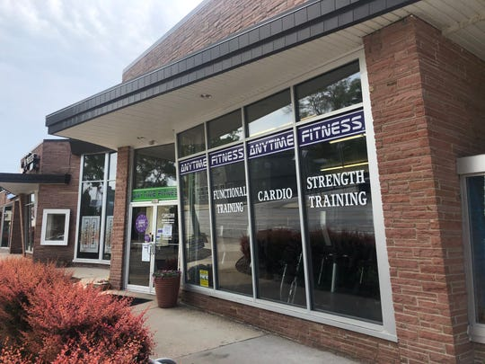 """Anytime Fitness, at 8901 W. North Ave. in Wauwatosa, is receiving backlash after a workout called """"I can't breathe"""" was seen at the location."""