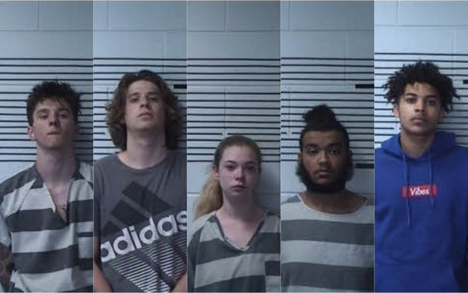 Andrew Williams, Chandler Falks, Hanna Qualls, Devin Buckhannon and Melvin Barris were each charged with attempted murder.