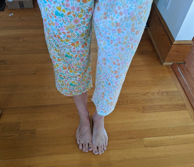 Abbey shares her somewhat successful tale of sewing clothing for her family.