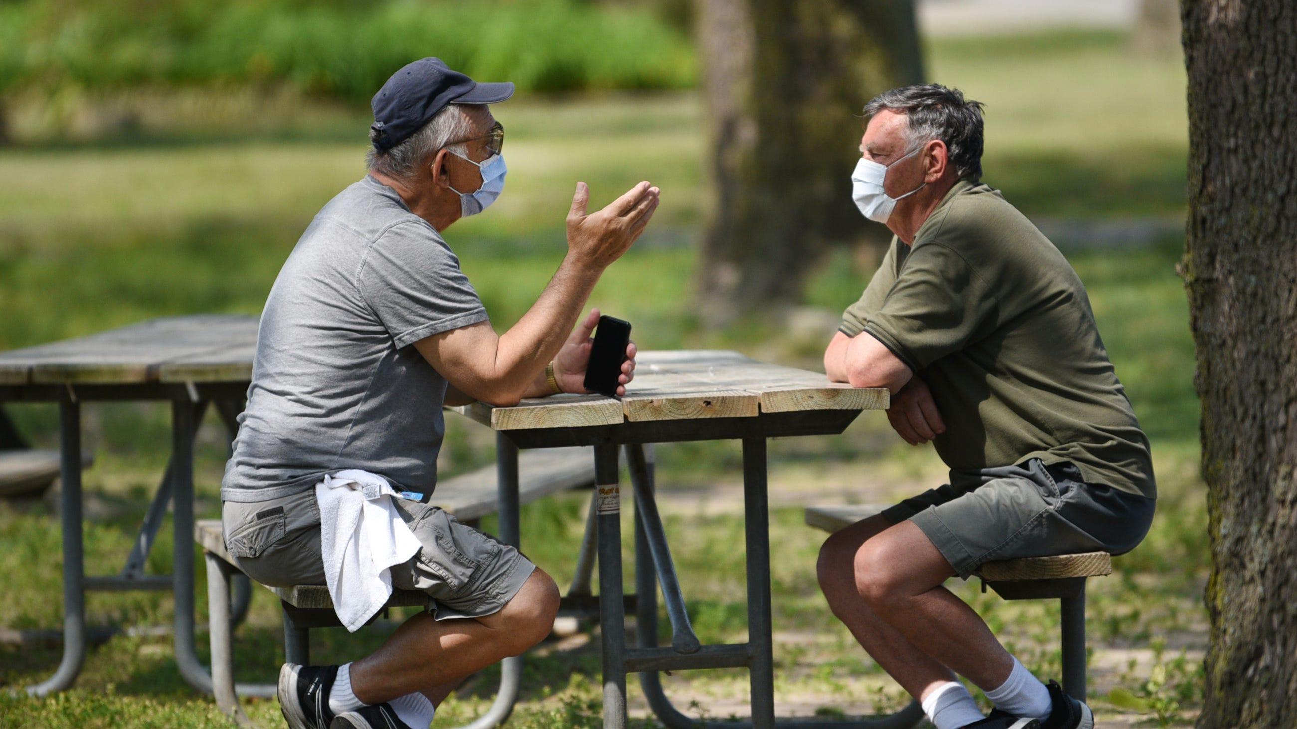 Stepping outside? Masks are mandatory, Murphy says