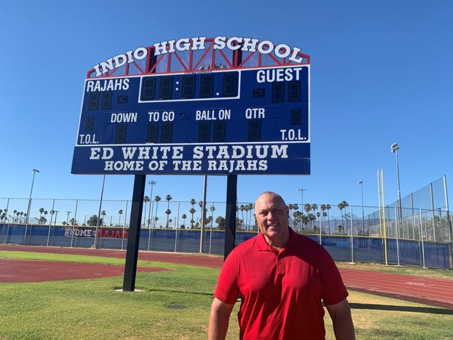 Ron Shipley was officially named the new athletics director at Indio High School on Tuesday, June 9, 2020.