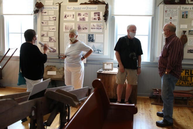 If the reopening at the Catawba Museum on Wednesday is any indication, some Ohioans were anxious to get a taste of history along with the sense of a return to normalcy that a visit there offers.